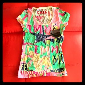 Custo Graphic T-shirt size small